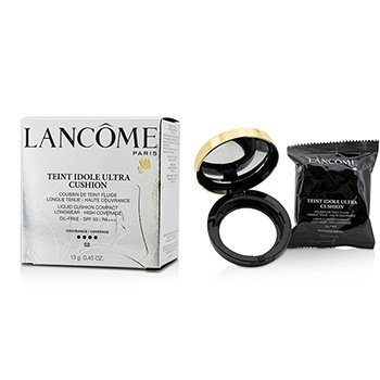Lancome Teint Idole Ultra Cushion Liquid Cushion Compact SPF 50 - # 02 Beige Rose  13g/0.45oz