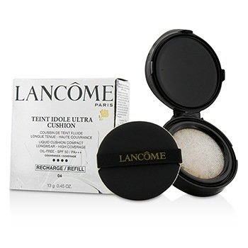 Lancome Teint Idole Ultra Cushion Liquid Cushion Compact SPF 50 Refill - # 04 Beige Miel  13g/0.45oz