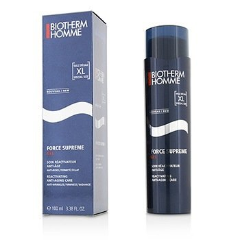 ビオテルム Homme Force Supreme Total Reactivator Anti Aging Gel Care  100ml/3.38oz