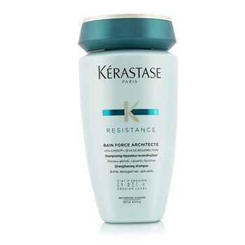 Resistance Bain Force Architecte Strengthening Shampoo (For Brittle, Damaged Hair, Split Ends)  250ml/8.5oz