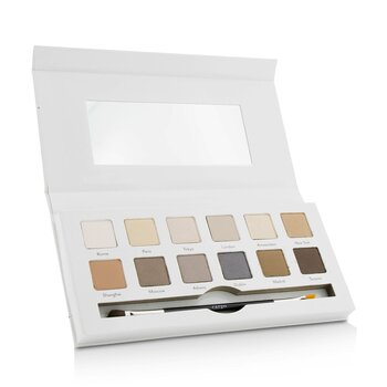 Cargo Around the World Eye Shadow Palette (12x Eye Shadow, 1x Shadow Brush)  12x0.8g/0.03oz