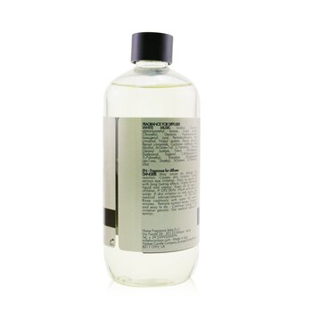 Natural Fragrance Diffuser Refill - White Musk / Muschio Bianco 500ml/16.9oz