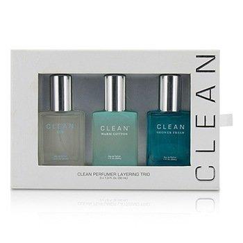Clean Clean Perfumer Layering Trio: Air + Shower Fresh + Warm Cotton  3x30ml/1oz