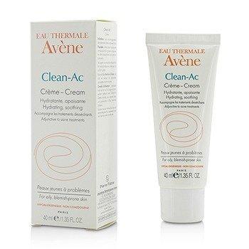 Avene Clean-Ac Cream - For Oily, Blemish-Prone Skin  40ml/1.35oz