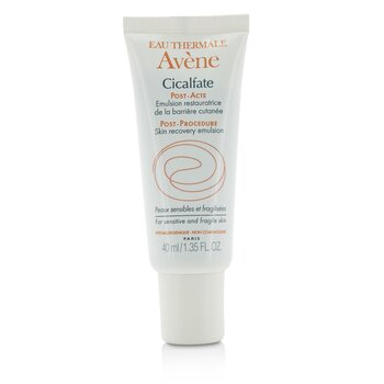 Avene Cicalfate Post-Procedure Skin Recovery Emulsion - For Sensitive & Fragile Skin  40ml/1.35oz