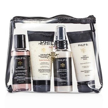 "Philip B ""Escape"" Kit de Viaje  4pcs"