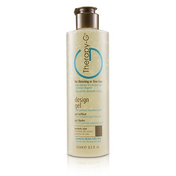 Therapy-g Design Gel ( p/ cabelos finos e ralos )  250ml/8.5oz