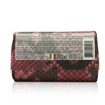 Chic Animalier Natural Soap - Wild Orchid, Red Tea Leaves & Tiare  250g/8.8oz