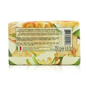 Romantica Sensuous Natural Soap - Noble Cherry Blossom & Basil  250g/8.8oz