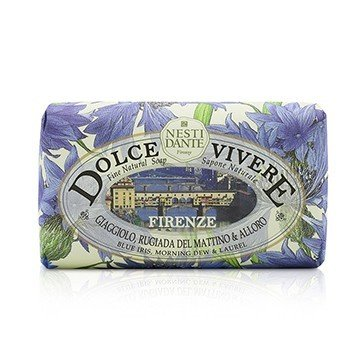 Dolce Vivere Fine Natural Soap - Firenze - Blue Iris, Morning Dew & Laurel  250g/8.8oz
