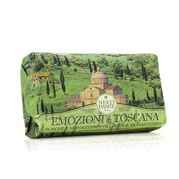 Emozioni In Toscana Natural Soap - Villages & Monasteries  250g/8.8oz