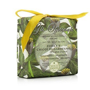 Gli Officinali Soap - Ivy & Clove - Therapeutic & Relaxing  200g/7oz
