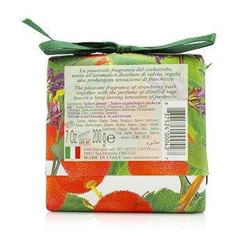 Gli Officinali Soap - Fruit Of The Strawberry Bush & Sage - Vitaminic & Refreshing  200g/7oz