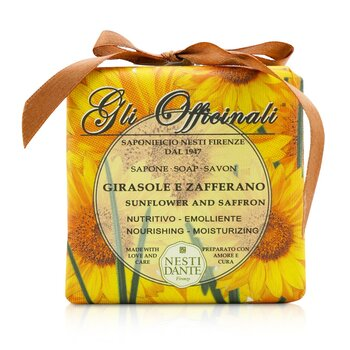 Gli Officinali Soap - Sunflower & Zafferano - Nourishing & Moisturizing  200g/7oz