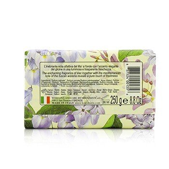 Romantica Enchanting Natural Soap - Tuscan Wisteria & Lilac 250g/8.8oz