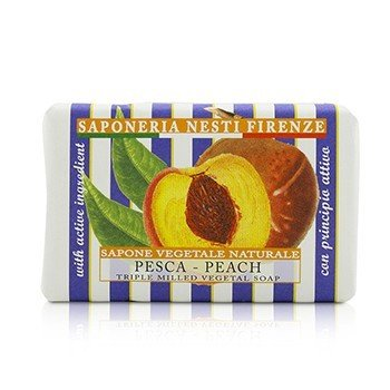 Le Deliziose Natural Soap -  Peach 150g/5.3oz
