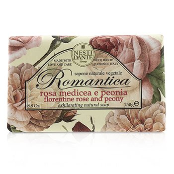 Romantica Exhilarating Natural Soap - Florentine Rose & Peony  250g/8.8oz