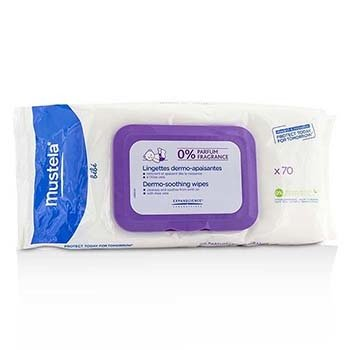 Mustela Dermo-Soothing Wipes - Fragrance Free (Exp. Date: 07/2017)  70wipes
