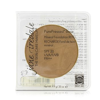 Jane Iredale PurePressed Base Mineral Foundation Refill SPF 20 - Suntan  9.9g/0.35oz