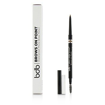 Billion Dollar Brows Brows On Point Waterproof Micro Brow Pencil - Light Brown  0.045g/0.002oz