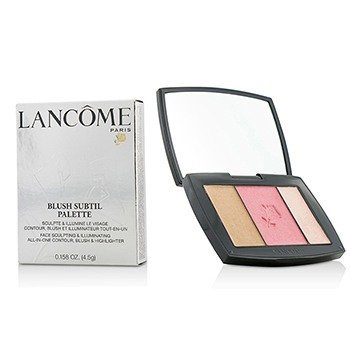 Lancome Blush Subtil Palette (3x Colours Powder Blusher) - # 323 Rose Flush (US Verison)  4.5g/0.158oz