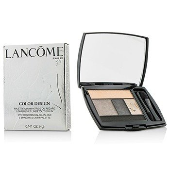 Lancôme Color Design 5 Shadow & Liner Palette - # 602 Gris Fumee  4g/0.141oz