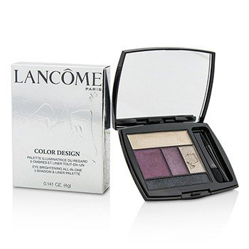 Lancome Color Design 5 Shadow & Liner Palette - # 301 Mauve Cherie (US Version)  4g/0.141oz