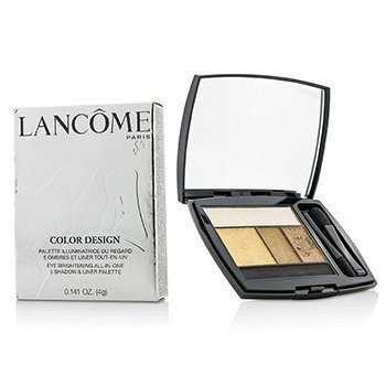 Lancome Color Design 5 Shadow & Liner Palette - # 103 Golden Frenzy (US Version)  4g/0.141oz