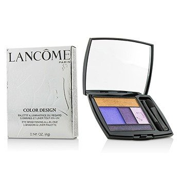 Lancôme Color Design 5 Shadow & Liner Palette - # 313 Jacaranda Bloom  4g/0.141oz