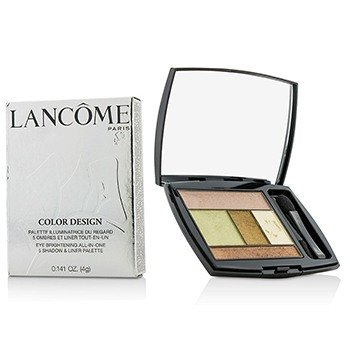 Lancôme Color Design 5 Shadow & Liner Palette - # 603 Olive Soleil  4g/0.141oz