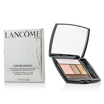 Lancome Color Design 5 Shadow & Liner Palette - # 207 Petal Pusher (US Version)  4g/0.141oz