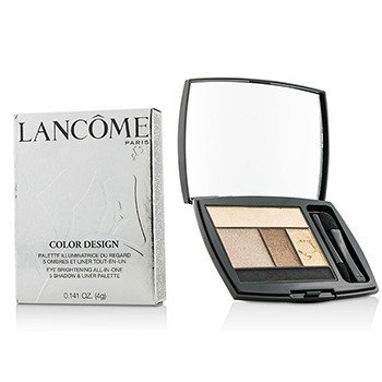 Lancôme Color Design 5 Shadow & Liner Palette - # 110 Chocolate Amande (US Version)  4g/0.141oz