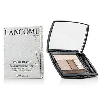 Lancôme Color Design 5 Shadow & Liner Palette - # 108 Beige Brulee (US Version)  4g/0.141oz