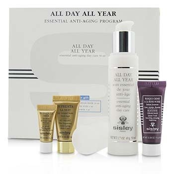 Anti-Aging Program: All Day All Year 50ml + Black Rose Cream Mask 10ml + Supremya Night Cream 5ml + Supremya Eye Serum 1ml  4pcs