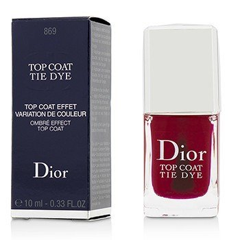 Christian Dior Tie Dye Ombre Effect Top Coat - # 869  10ml/0.33oz