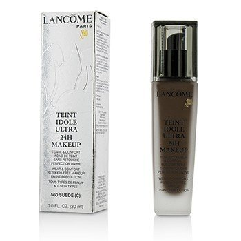 Lancome Teint Idole Ultra 24H Wear & Comfort Foundation - # 560 Suede C (US Version)  30ml/1oz