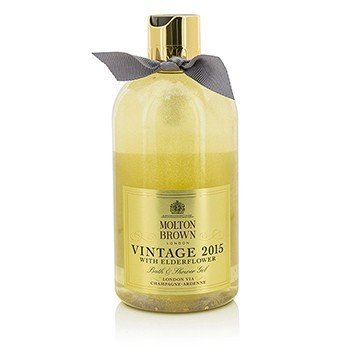 Molton Brown Vintage 2015 With Elderflower Bath & Shower Gel  300ml/10oz