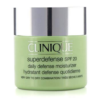 Clinique Superdefense Hidratante Defensa Diaria SPF 20 (Piel Muy Seca a Seca Mixta)  75ml/2.5oz