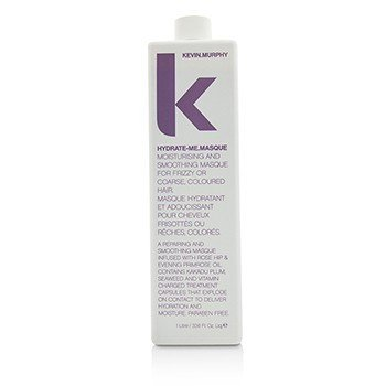 Hydrate-Me.Masque (Moisturizing and Smoothing Masque - For Frizzy or Coarse, Coloured Hair)  1000ml/33.6oz