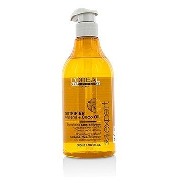 L'Oreal Professionnel Expert Serie - Nutrifier Glycerol + Coco Oil Silicone-Free Shampoo (For Dry, Undernour  500ml/16.9oz