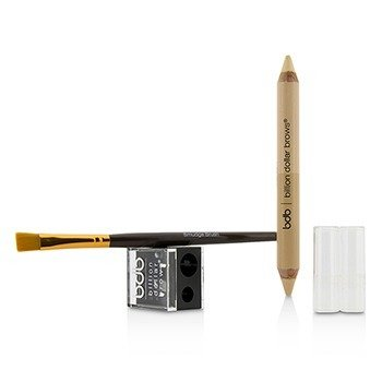 60 Seconds to Contoured Brows Kit (1x Brow Duo Pencil, 1x Smudge Brush, 1x Duo Sharpener)  3pcs
