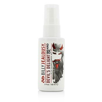 Billy Jealousy Devil's Delight Beard Oil with Sunflower Oil  60ml/2oz