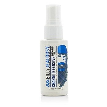 Billy Jealousy Charm Offensive Beard Oil with Sweet Almond Oil  60ml/2oz