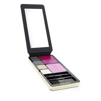 Very YSL Makeup Palette (Silver Edition) (1x Blush, 2x Lipcolour, 4x Eyeshadow, 3x Applicator)  11.7g/0.3oz