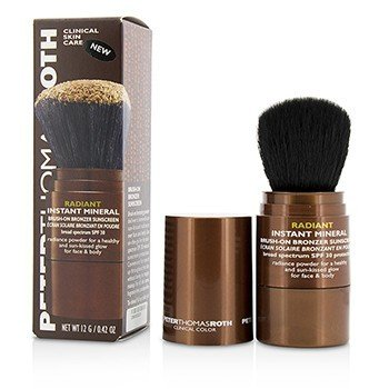 Peter Thomas Roth Radiant Instant Mineral Brush-On Bronzer Sunscreen Broad Spectrum SPF 30 - For Face & Body (Exp. Date: 09/2017)  12g/0.42oz