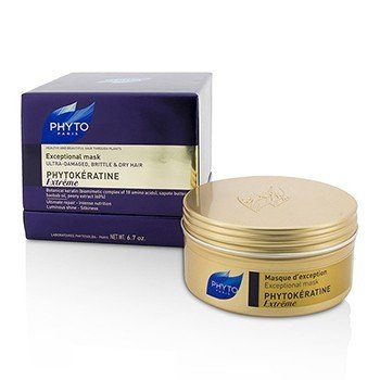 Phyto Phytokeratine Extreme Exceptional Mask (Ultra-Damaged, Brittle & Dry Hair)  200ml/6.7oz