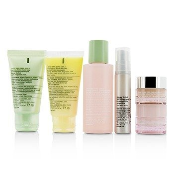 Travel Set: Sonic Facial Soap + Clarifying Lotion 3 + DDMG + Smart Serum + Moisture Surge Intense +  6pcs+1bag