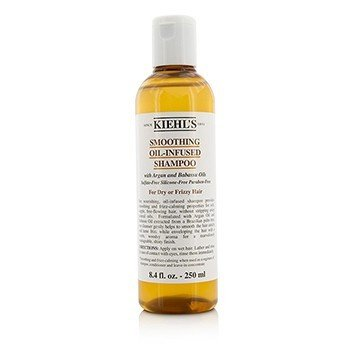 Kiehl's Smoothing Oil-Infused Shampoo (for tørt og krusete hår)  250ml/8.4oz