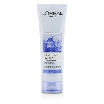 L'Oreal Sea-Salt Whip Foam Cleanser With Bergamot Extract - For Combination Skin  125ml/4.2oz