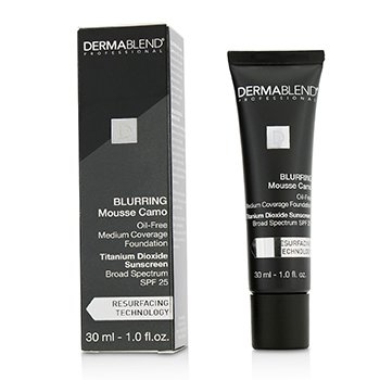 Dermablend Blurring Mousee Camo Base Libre de Aceite SPF 25 (Cobertura Media) - #0C Ivory  30ml/1oz